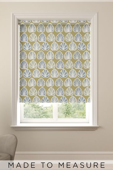 Moss Green Clara Made To Measure Roller Blind