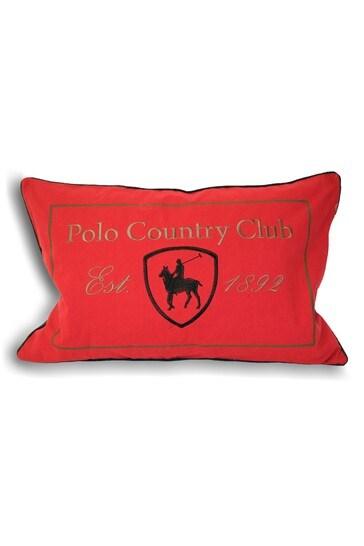 Polo Club Cushion by Riva Paoletti