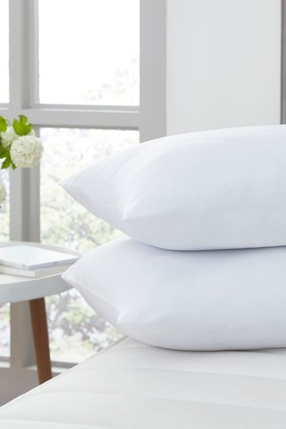 2 Pack Stay Clean Teflon™ Coated Pillows by Silentnight