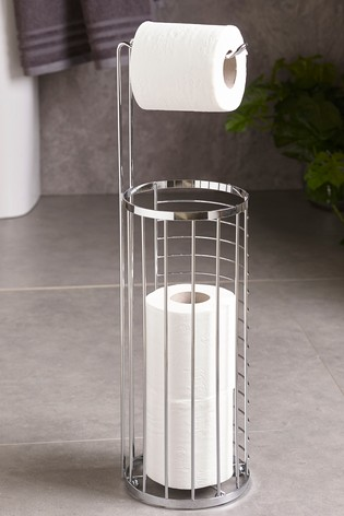 Wire Toilet Roll Holder and Store