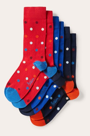 Boden Blue Favourite Socks