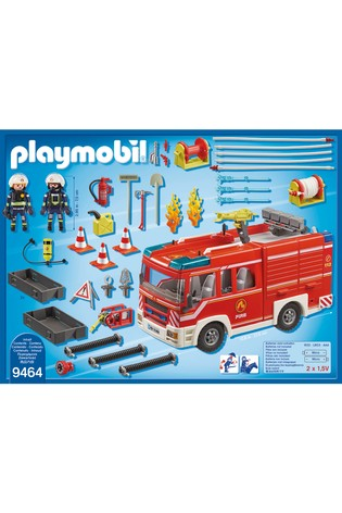 Playmobil® 9464 City Action Fire Engine With Working Water Cannon
