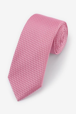 Pink Signature 'Made in Italy' Tie