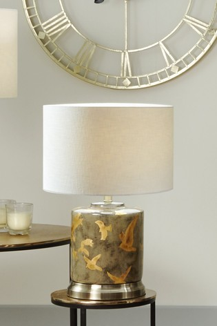 Martins Gold Bird Ceramic Lamp by Pacific