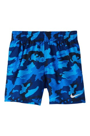 "Nike Camo 4"" Volley Swim Shorts"