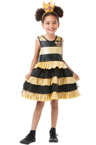 Rubies Deluxe L.O.L. Surprise! Queen Bee Fancy Dress Costume