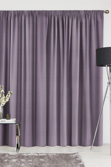 Aubergine Purple Craven Made To Measure Curtains