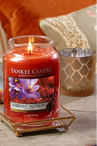 Yankee Candle Classic Large Vibrant Saffron Candle