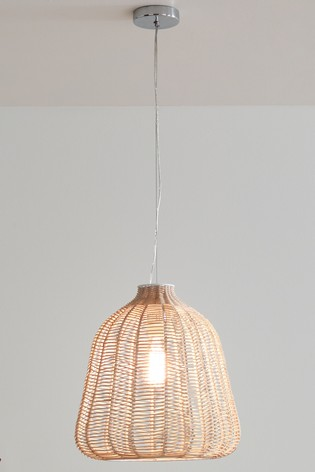 Kingman Rattan Chevron Pendant by Pacific