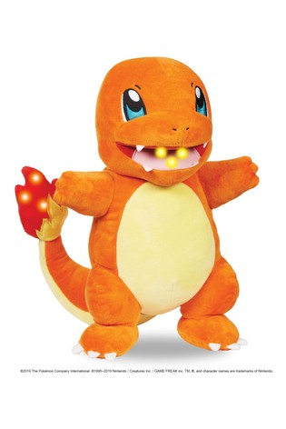 Pokémon Flame Action Chamander Toy