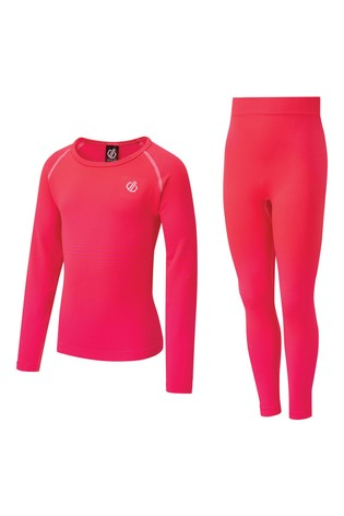 Dare 2b Pink Kid's In The Zone Base Layer Set