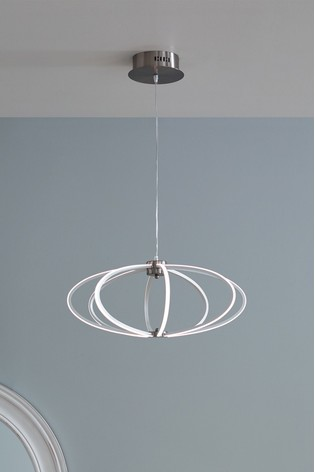 Cosmo White LED Pendant by Pacific