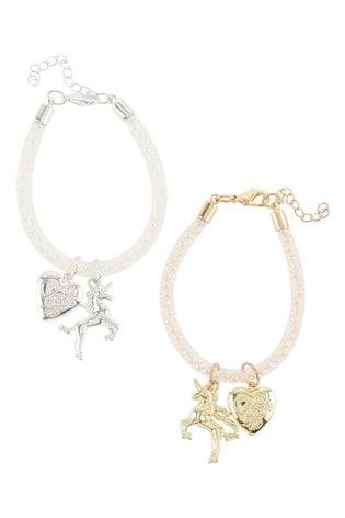 Monsoon Silver Tone Bracelet Set