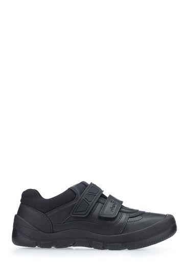 Start-Rite Black Leather Rhino Warrior Shoes