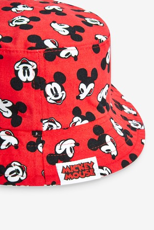 Red Mickey Mouse™ Bucket Hat (Younger)