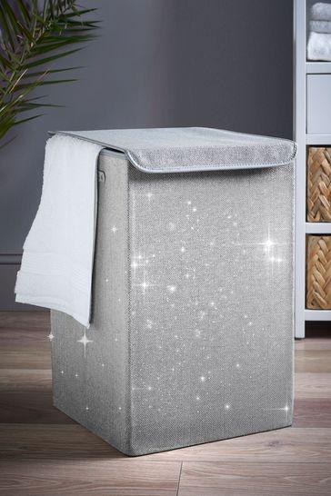 Glitter Laundry Hamper