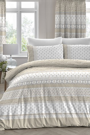 D&D Exclusive To Next Elodi Vintage Floral Duvet Cover and Pillowcase Set