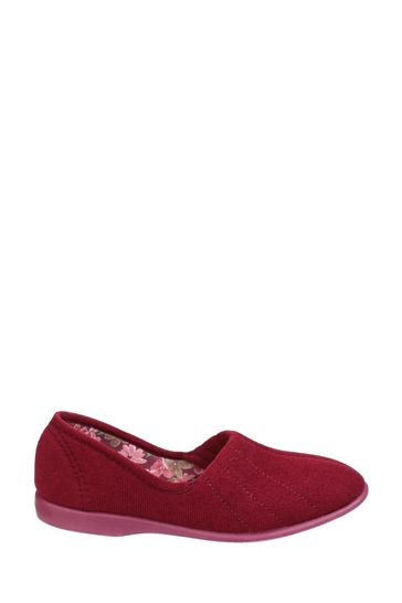 GBS Red Audrey Slippers