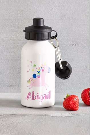 Personalised Unicorn Drink Bottle by Loveabode