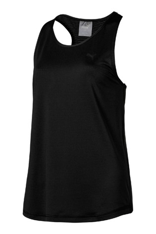 Puma® Black Racerback Tank Top