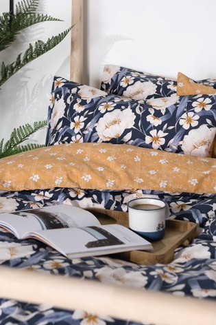 FatFace Floral Blooms Cotton Duvet Cover and Pillowcase Set