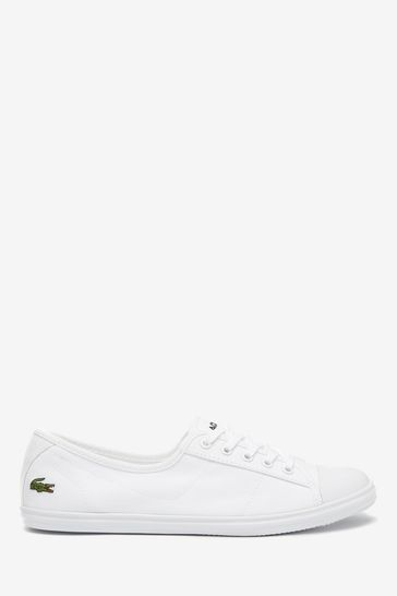 Lacoste® Ziane Canvas Trainers