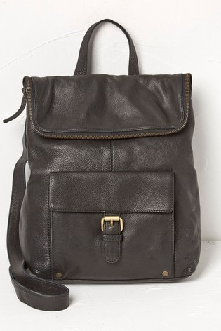 FatFace Black Whitney Backpack