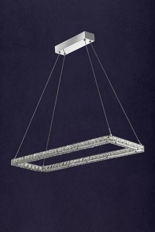 Searchlight Chrome Cluster LED Ceiling Light