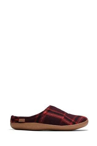 Toms Red Berkeley Slippers