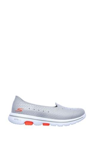 Skechers® Grey Go Walk 5 Sun Kissed Trainers