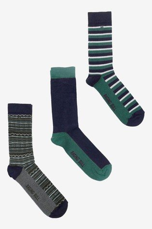 Raging Bull Forest Cotton Mix Socks Three Pack
