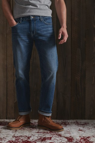 Superdry Tailored Straight Jeans