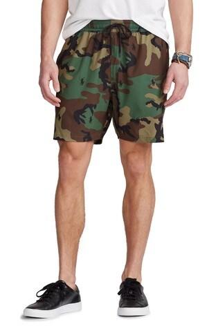 Polo Ralph Lauren Multi Logo Traveller Swim Shorts