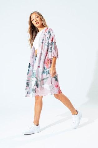Hype. Womens Multi Blush Kimono