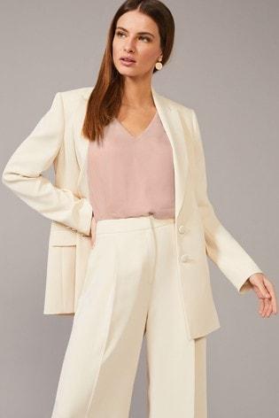 Phase Eight Neutral Cadie Suit Jacket