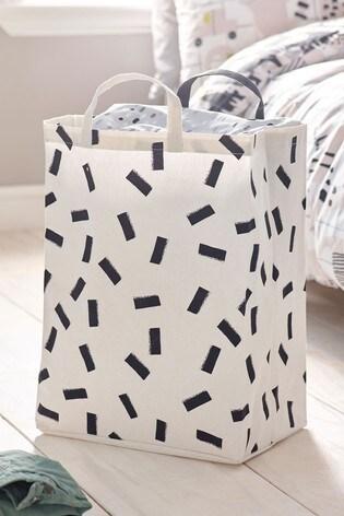 Mono Pattern Storage Bag