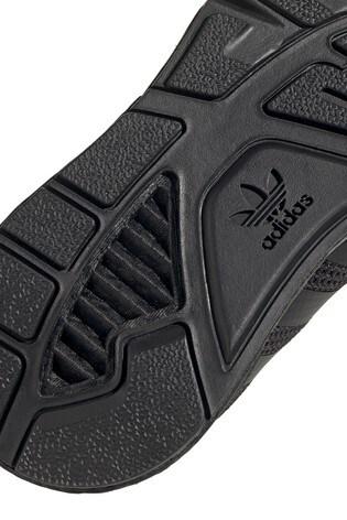 adidas Originals Black ZX 1K BOST GS Trainers