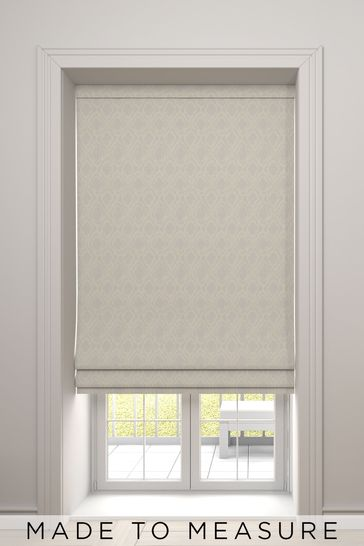 Natural Hallam Made To Measure Roman Blind