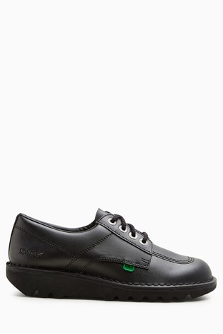 Kickers® Kick Black Lo Lace Shoe