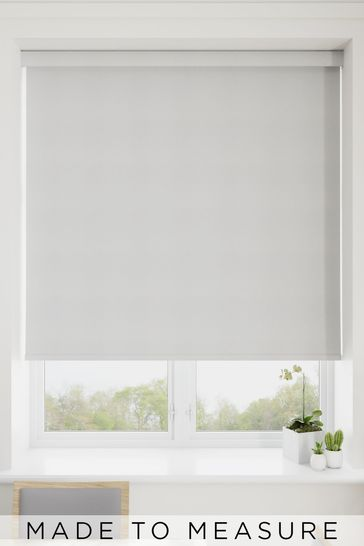 Marilyn Coin Silver Made To Measure Blackout Roller Blind