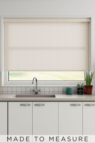 Polar Candyfloss Pink Made To Measure Roller Blind