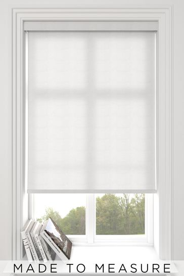 Polar Frost White Made To Measure Roller Blind