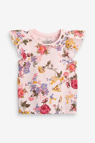 Pink Floral Vest (3mths-7yrs)