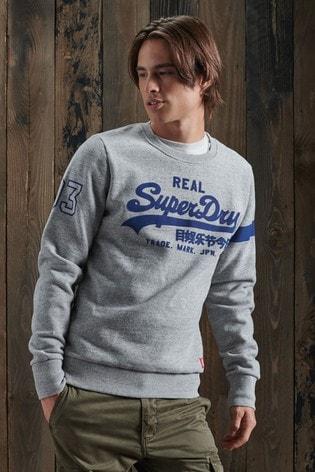 Superdry Vintage Logo Varsity Sweatshirt