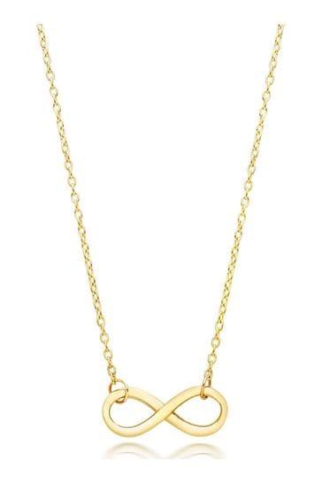 Beaverbrooks 9ct Infinity Necklace