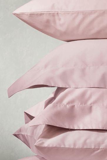 Set of 2 Laura Ashley Blush 200 Thread Count Cotton Pillowcases