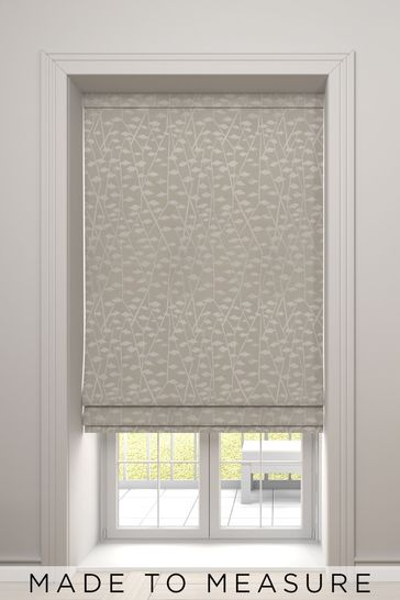 Oyster Coraline Made To Measure Roman Blind