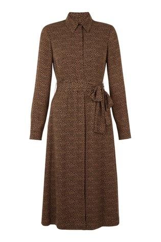 Hobbs Brown Mimi Dress