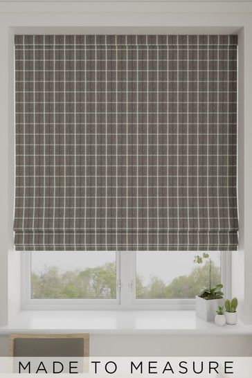 Malvern Forest Green Made To Measure Roman Blind