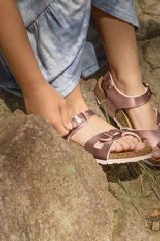 Buy Birkenstock® Rose Gold Rio Sandals